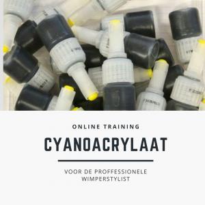 cyanoacrylaat online training